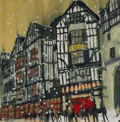 Susan BROWN - Night before Christmas, London