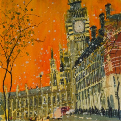 Susan BROWN, contemporary artist - Parliament, London