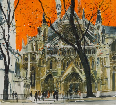 Susan BROWN - Majesty of Westminster Abbey, London