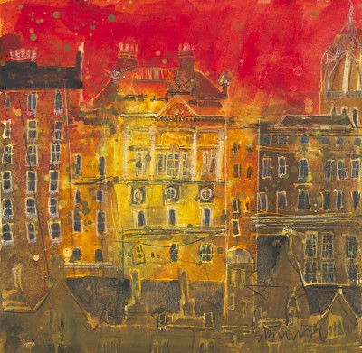 British Artist Susan BROWN - Stones of Edinburgh
