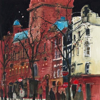 British Artist Susan BROWN - The Colisium II, London