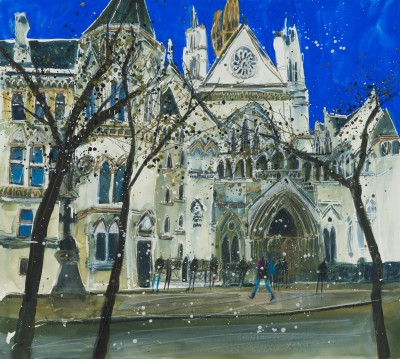 Early Winter, Royal Courts of Justice