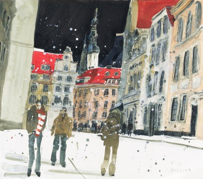 Susan BROWN - From the square, Tallin
