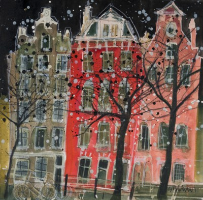 Susan BROWN - Winter, Amsterdam