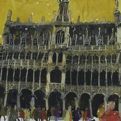 Susan BROWN, contemporary artist - Musee de Ville, Brussels