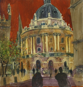 Susan BROWN - The Radcliffe Camera, Oxford