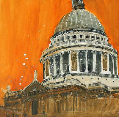 British Artist Susan BROWN - Dome and Stone Gallery, St Paul's