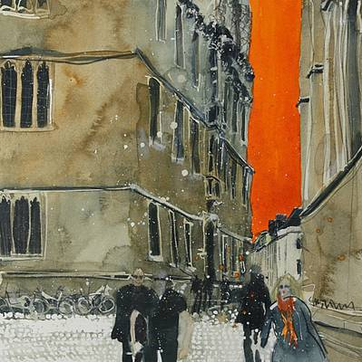 British Artist Susan BROWN - Exploring the City, Oxford