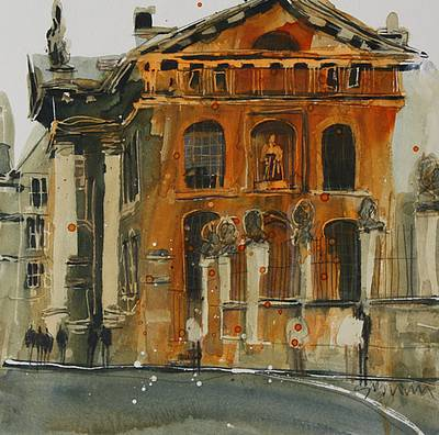 British Artist Susan BROWN - Broad Street, Oxford