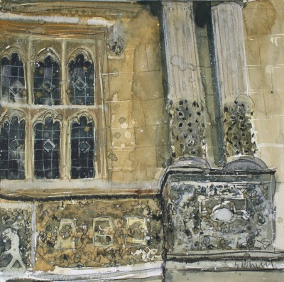 British Artist Susan BROWN - Architectural Detail, Oxford