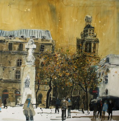 Limited Edition Prints Artist Susan Brown - Autumn Light, The Coliseum