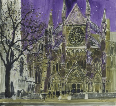 British Artist Susan BROWN - Setting For Great Pageants