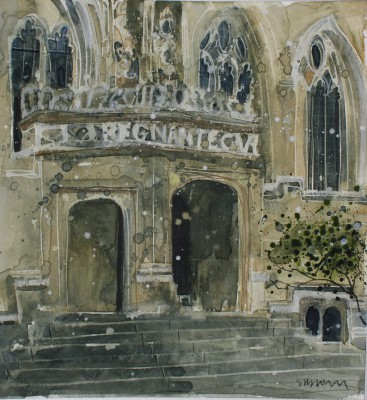 British Artist Susan BROWN - Oriel College, Oxford