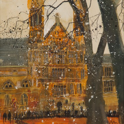 British Artist Susan BROWN - Palace of Westminster
