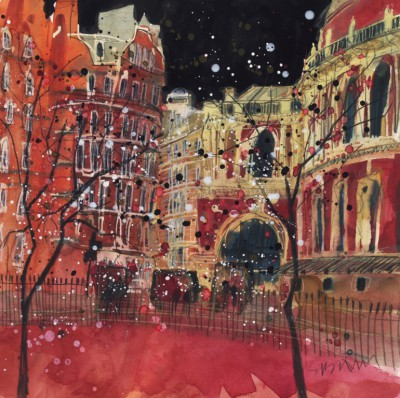 Limited Edition Prints Artist Susan Brown - Royal Albert Hall