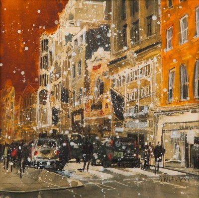 British Artist Susan BROWN - Royal Arcade, Bond Street