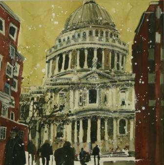 Susan BROWN - Autumn, St Pauls London