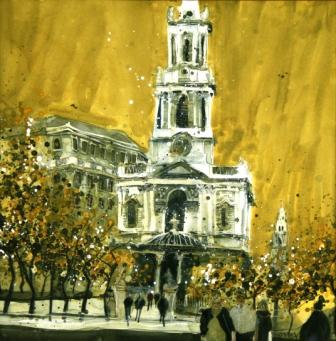 Susan BROWN - St. Mary-le-Strand, London