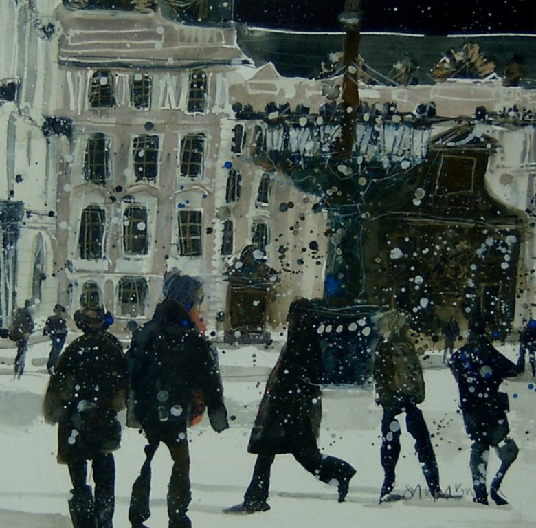 Susan BROWN - Winter Visitors, Prague Castle