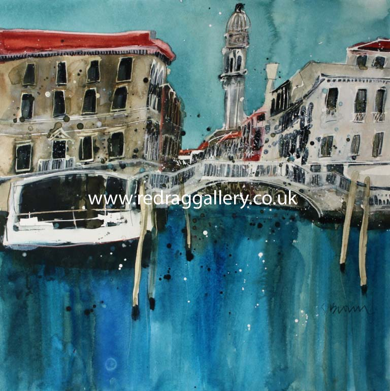 Susan BROWN - Tranquility, Venice