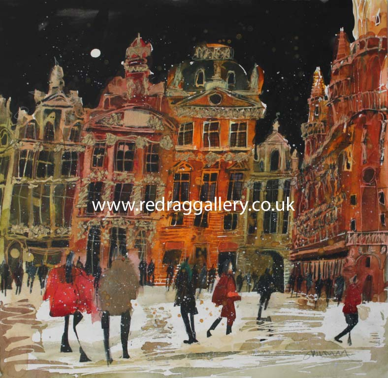 Susan BROWN - Edge of Darkness, Grand Place, Brussels