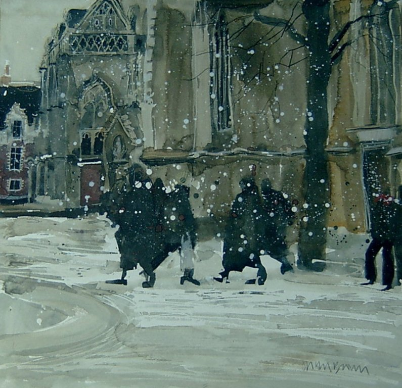 Susan BROWN - Winter, Bruges