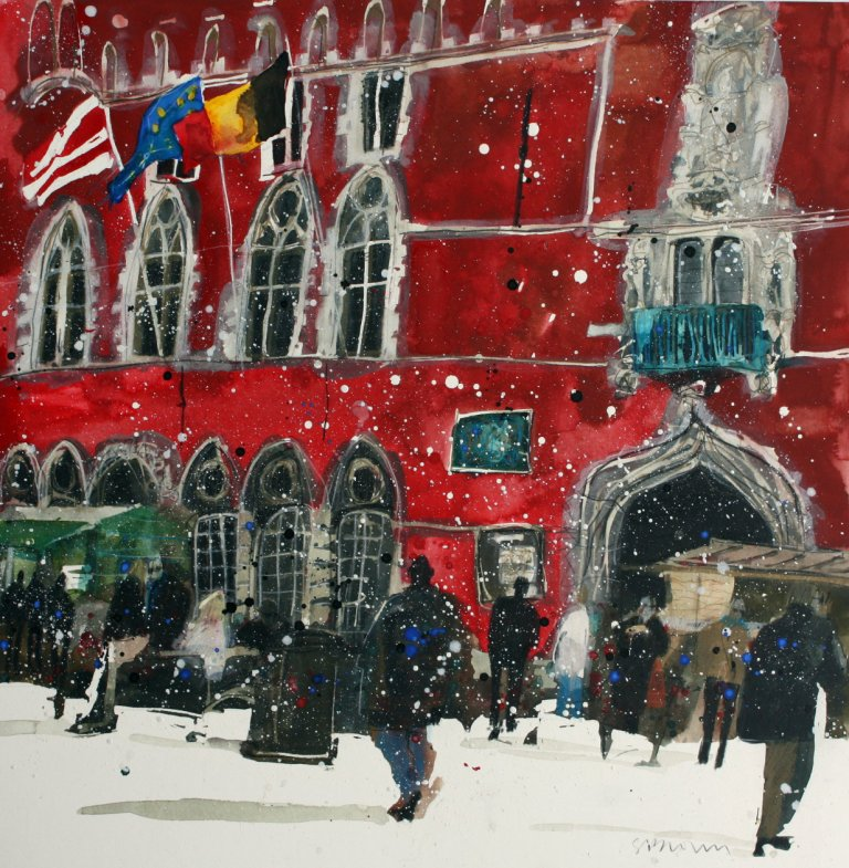Susan BROWN - Festive Season, Bruges