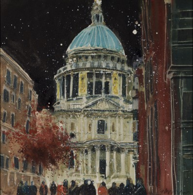 British Artist Susan BROWN - Simply St Paul's
