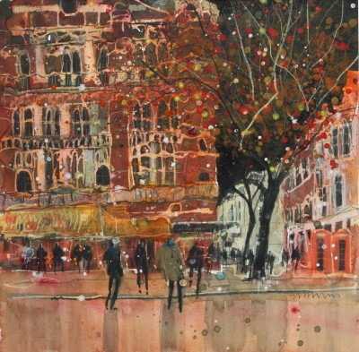 British Artist Susan BROWN - Theatre Night at the Palace