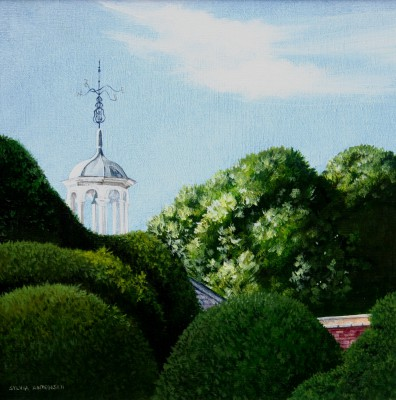 Kingston Lacy painting by artist Sylvia ANTONSEN