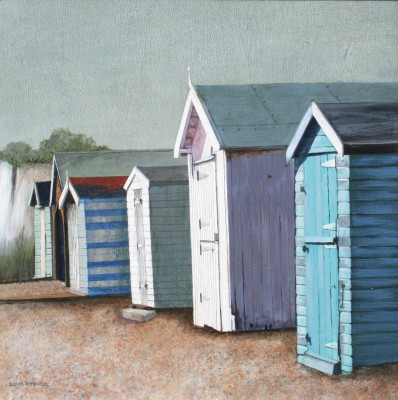 Kingsdown Two painting by artist Sylvia ANTONSEN