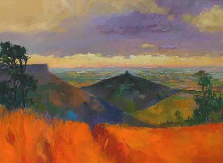 Tom WANLESS - View of Sutton Bank