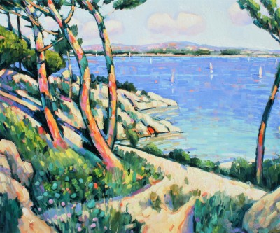 Terence CLARKE - Sunny Shore Theoule-sur-Mer