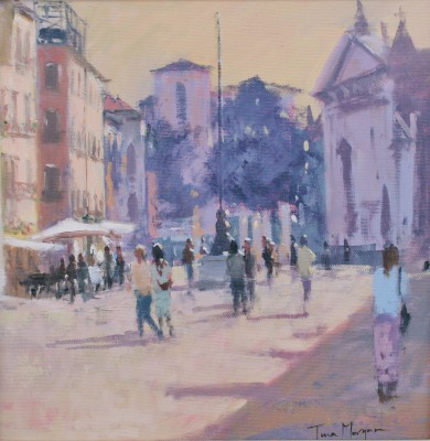 British Artist Tina MORGAN - Shadows of Venice
