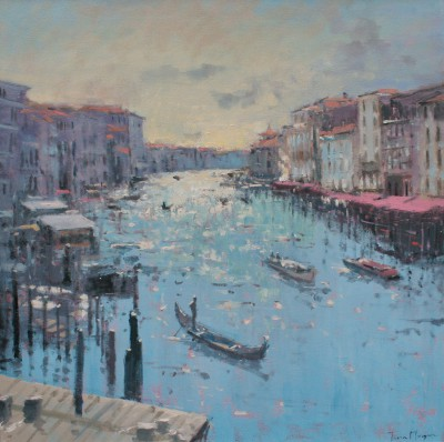 Tina MORGAN - A View of the Grand Canal