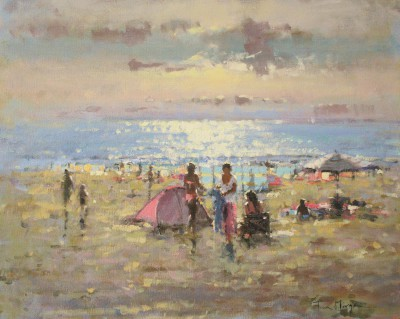 Tina MORGAN - Red Beach Tent