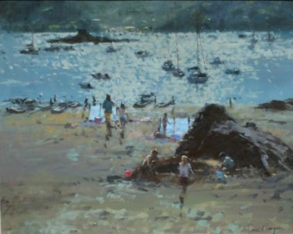 Tina MORGAN - Playing Near A Rock, Salcombe