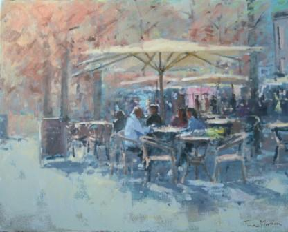Tina MORGAN - Lunch at Honfleur