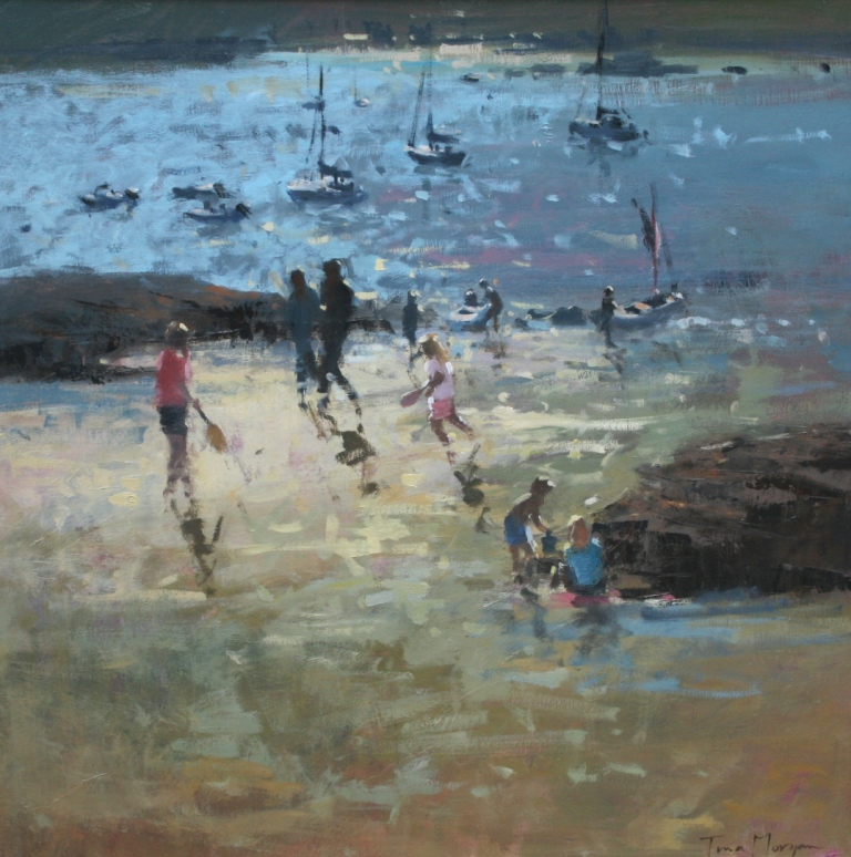 Tina MORGAN - Fun at Salcombe