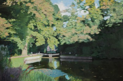 Tom GREENWOOD - St John's lock towards Woking