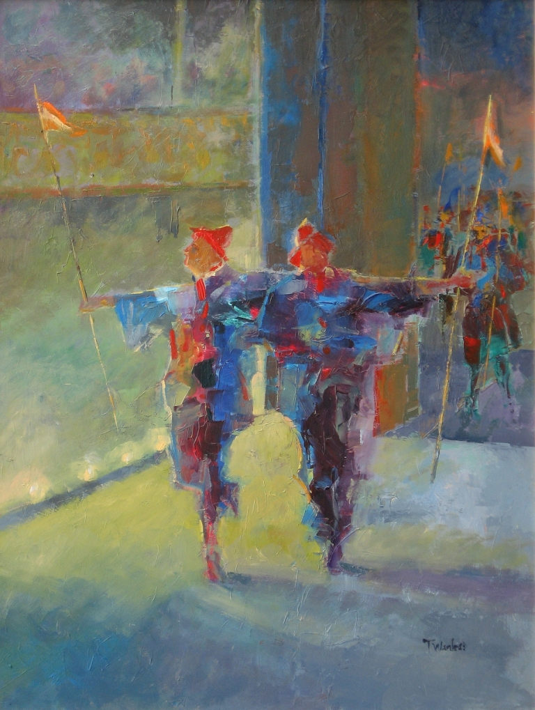 Tom WANLESS - Dancers to Centre Stage
