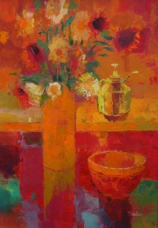 Tom WANLESS - Vibrant Studio Corner