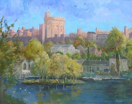 Tom WANLESS - The Thames at Windsor