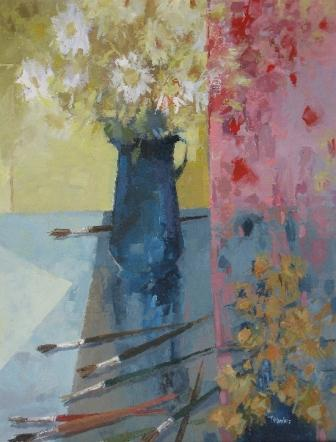 Tom WANLESS - Curtain Cascade and Old Brushes