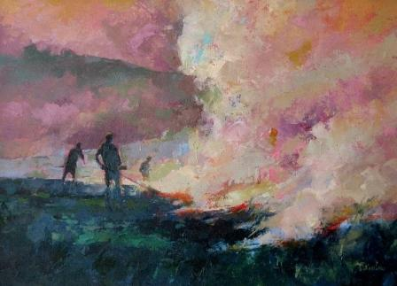 Tom WANLESS - Burning the Heather
