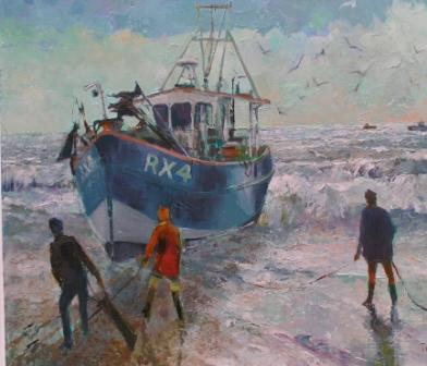 Tom WANLESS - Bringing the boat ashore