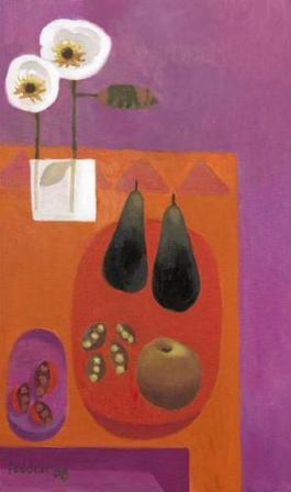 Mary Fedden - Two Pears 2008