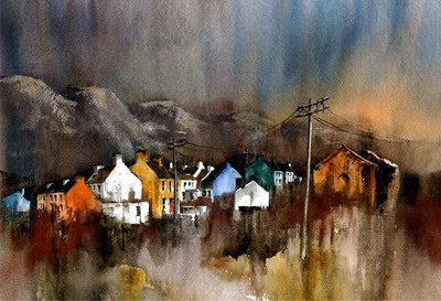 Limited Edition Prints Artist Val Byrne - Allihies Dusk Beara