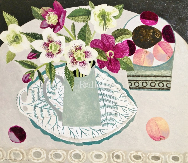 Vanessa BOWMAN - Hellebores and Peaches