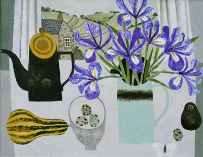 Vanessa BOWMAN - Irises and Autumn Squash